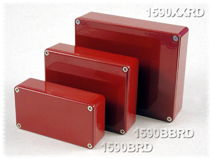 Hammond Mfg Painted Quot Stomp Box Quot Diecast Aluminum
